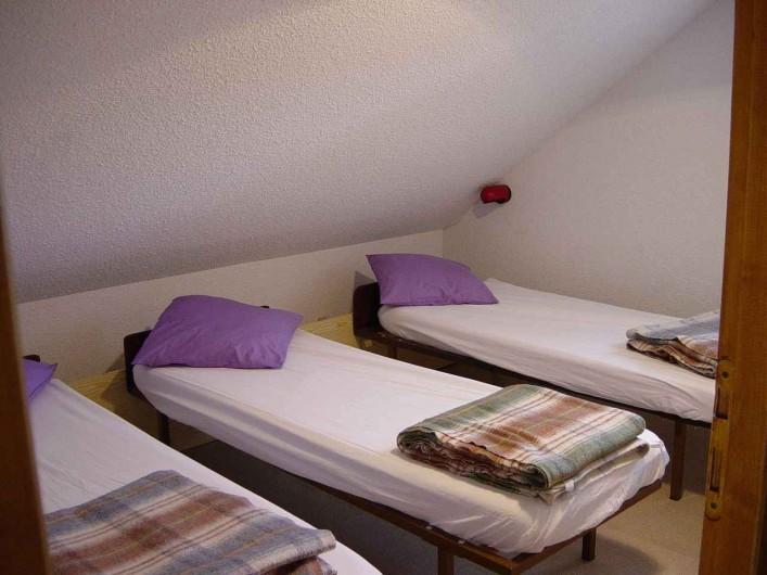 Location de vacances - Gîte à Valmeinier - Chambre 2