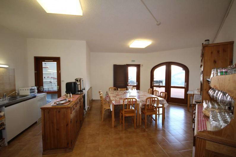 Location de vacances - Chalet à Les Saisies - Cuisine pour petite restauration, petits déjeuner sur réservation