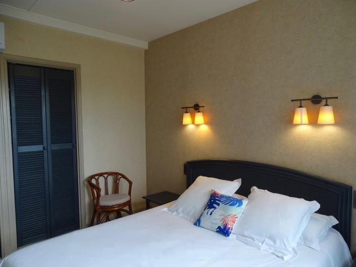 Location de vacances - Hôtel - Auberge à Albi - Chambre standard, vue jardin