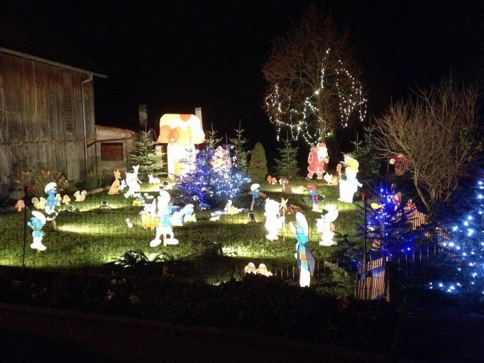 Location de vacances - Gîte à Kertzfeld - Décoration dans Kertzfeld a l'approche de Noël