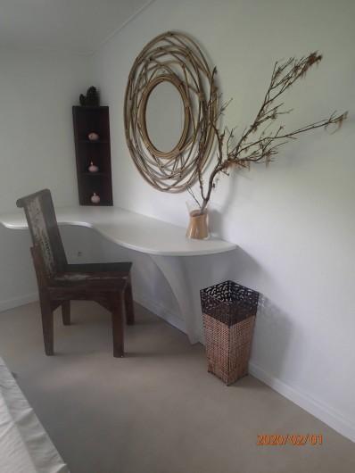 Location de vacances - Villa à La Saline-Les-Bains - Bureau Chambre 03