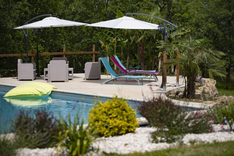 Location de vacances - Chambre d'hôtes à Simeyrols - Plage