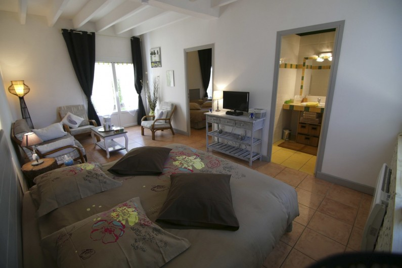 Location de vacances - Chambre d'hôtes à Simeyrols - Chambre familiale Sarlat (ch1)