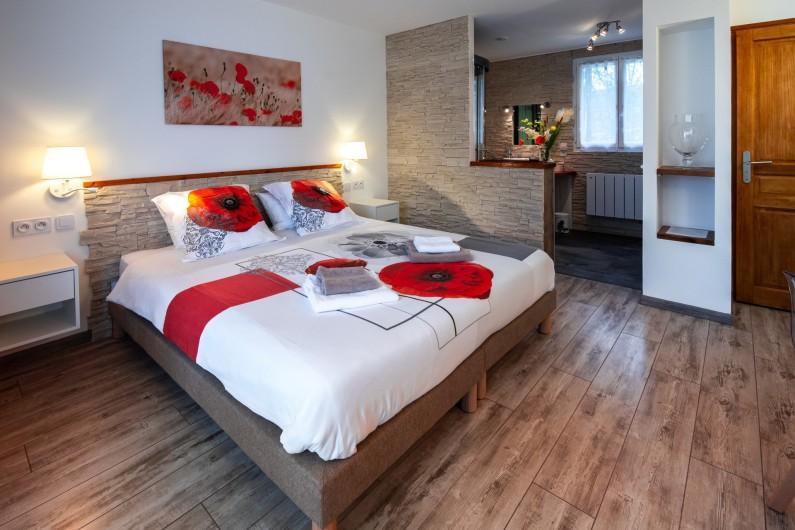 Location de vacances - Chambre d'hôtes à Simeyrols - Chambre Rocamadour