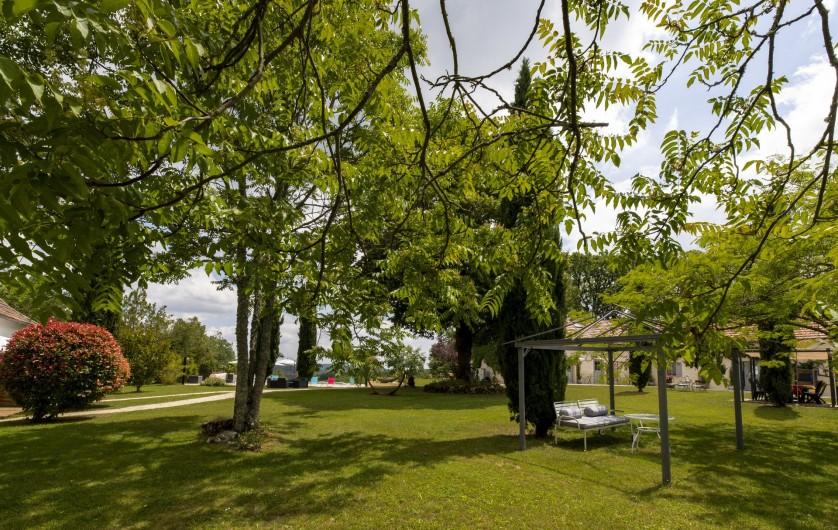 Location de vacances - Chambre d'hôtes à Simeyrols - Jardin