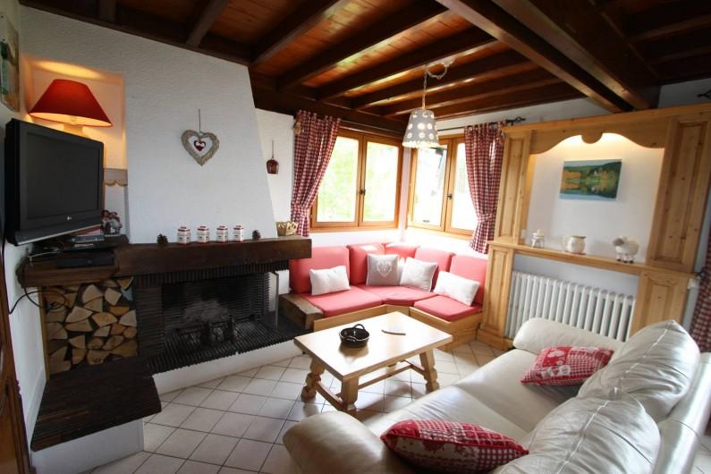 Location de vacances - Chalet à Xonrupt-Longemer - Salon