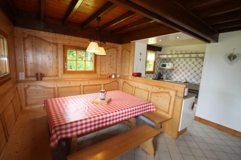 Location de vacances - Chalet à Xonrupt-Longemer - Coin repas