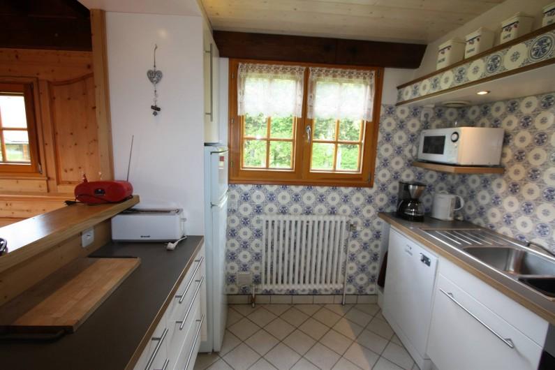 Location de vacances - Chalet à Xonrupt-Longemer - Cuisine ouvert