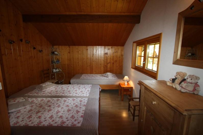 Location de vacances - Chalet à Xonrupt-Longemer - Chambre à 4 lits simples