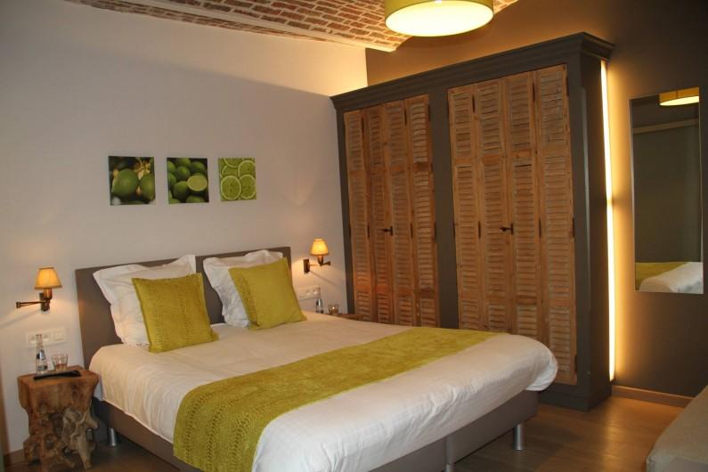 Location de vacances - Chambre d'hôtes à Zwevegem - Chambre Limoen