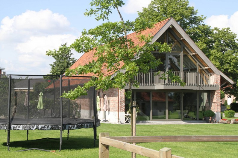 Location de vacances - Chambre d'hôtes à Zwevegem - Jardin