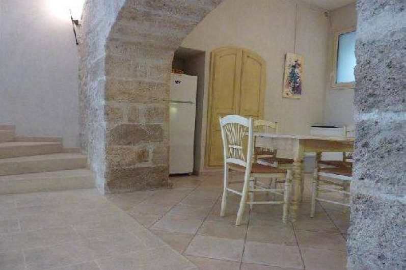 Location de vacances - Appartement à Robion - Voute d'origine