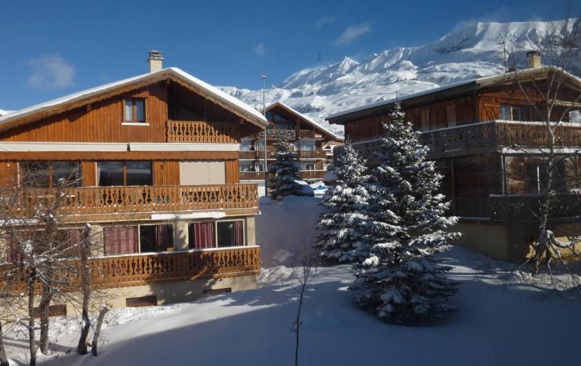 Location de vacances - Chalet à L'Alpe d'Huez - Chalet quartier Sud