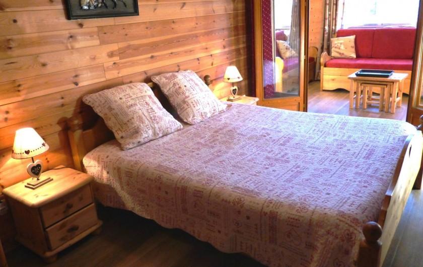 Location de vacances - Chalet à L'Alpe d'Huez - Chambre 3