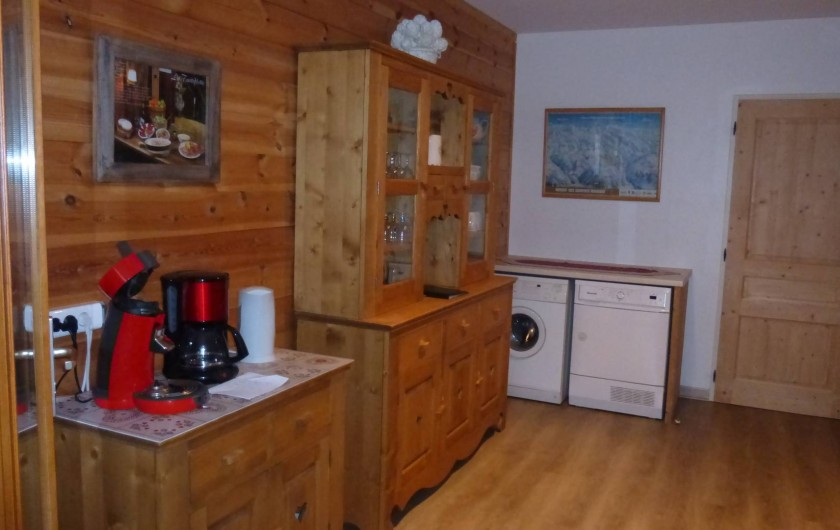 Location de vacances - Chalet à L'Alpe d'Huez - Cuisine