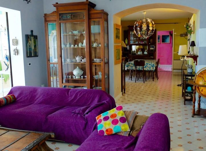 Location de vacances - Villa à Massa Lubrense - Salon TV
