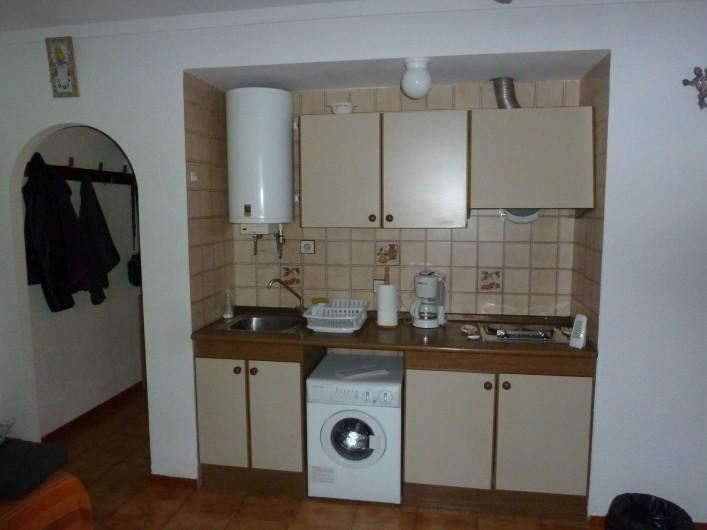 Location de vacances - Appartement à Roses - Coin cuisine