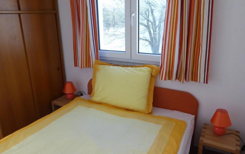 Location de vacances - Appartement à Brela - Chambre Ouest, 2 personnes.