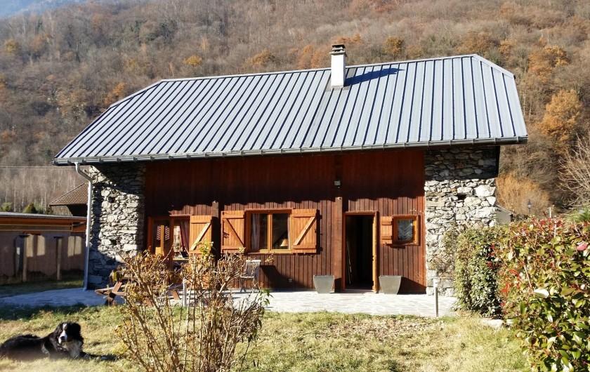 Location de vacances - Chalet à Saint-Léger