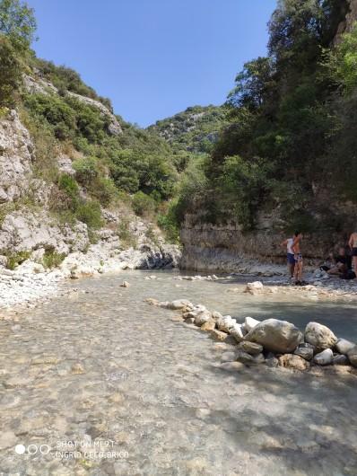 Location de vacances - Gîte à Grillon - Les gorges du Toulourenc