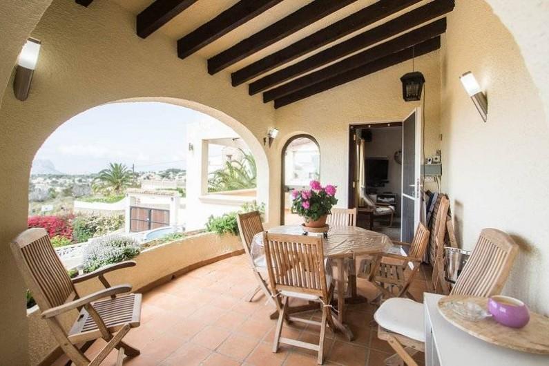 Location de vacances - Villa à Benissa - une terrasse