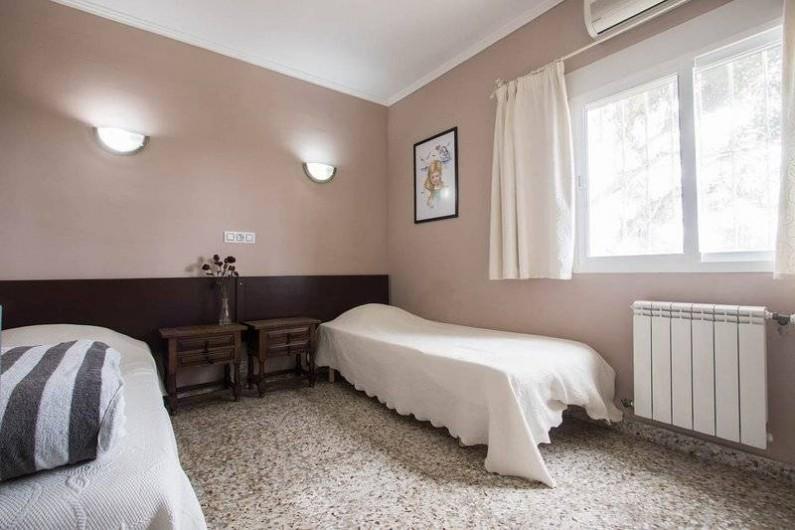 Location de vacances - Villa à Benissa - 2 em chambre possibilité de rapprocher les lits