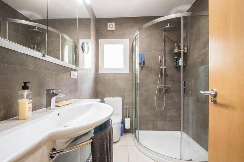 Location de vacances - Villa à Benissa - salle de douche