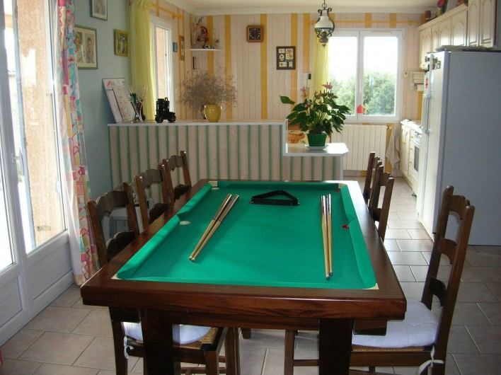 Location de vacances - Villa à Vers-Pont-du-Gard - Billard Américain