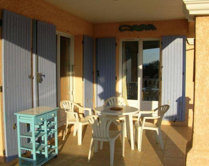 Location de vacances - Villa à Vers-Pont-du-Gard - terrasse