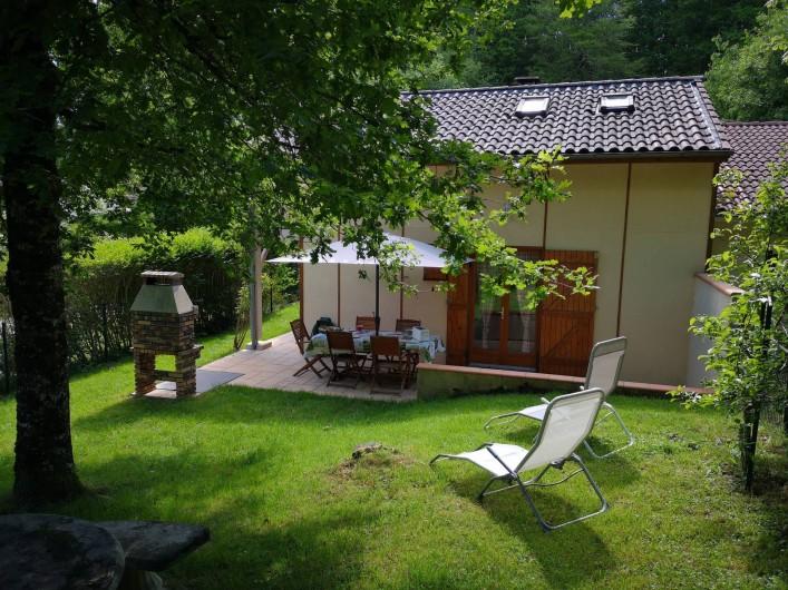 Location de vacances - Chalet à Saint-Gérons - Transats