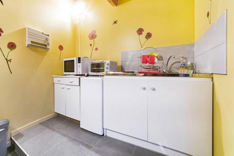 Location de vacances - Gîte à Trausse - Cuisine côté cuisson