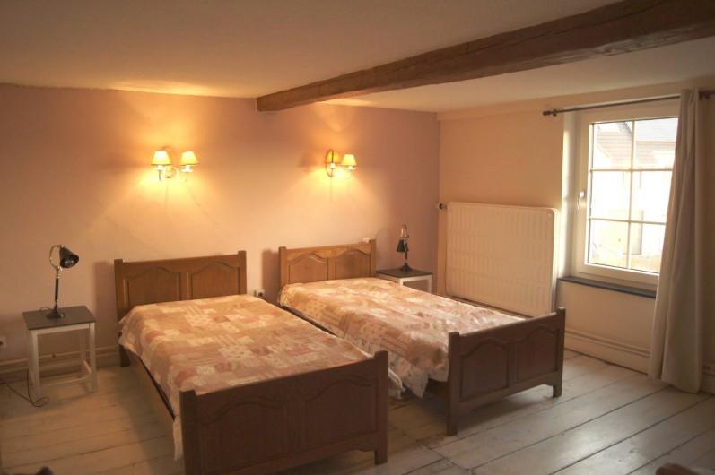 Location de vacances - Gîte à Buissonville - Chambre Rose