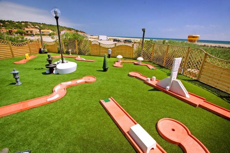 Location de vacances - Bungalow - Mobilhome à Leucate - mini golf