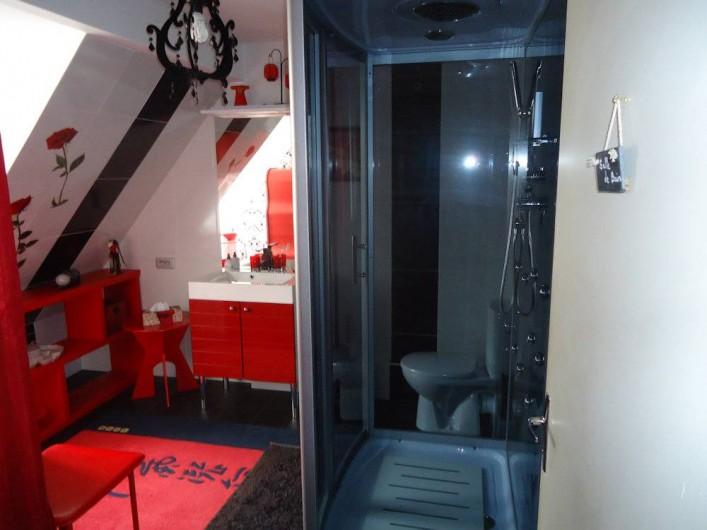Location de vacances - Chambre d'hôtes à La Croix-en-Touraine - SALLE de BAINS de la suite familiale