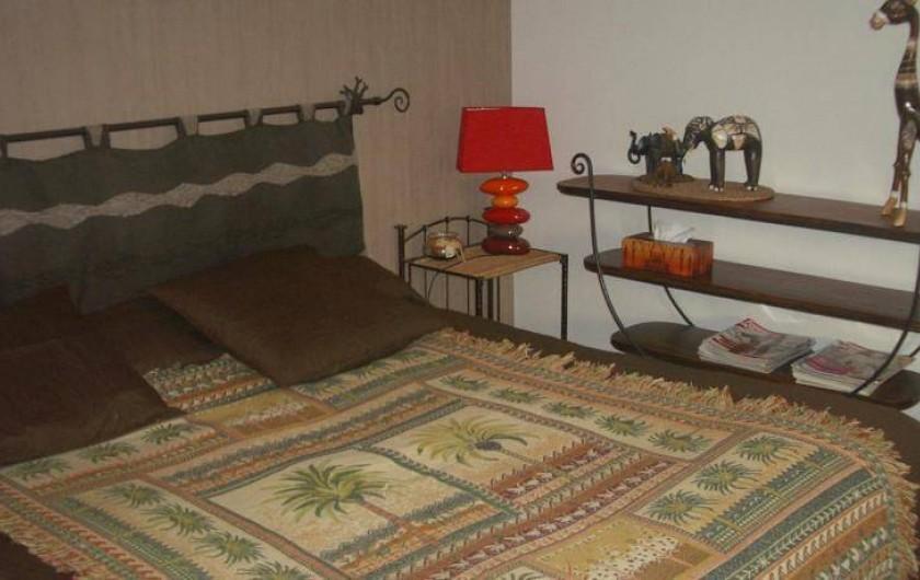 Location de vacances - Chambre d'hôtes à La Croix-en-Touraine - chambre BONSAI située au 1er étage