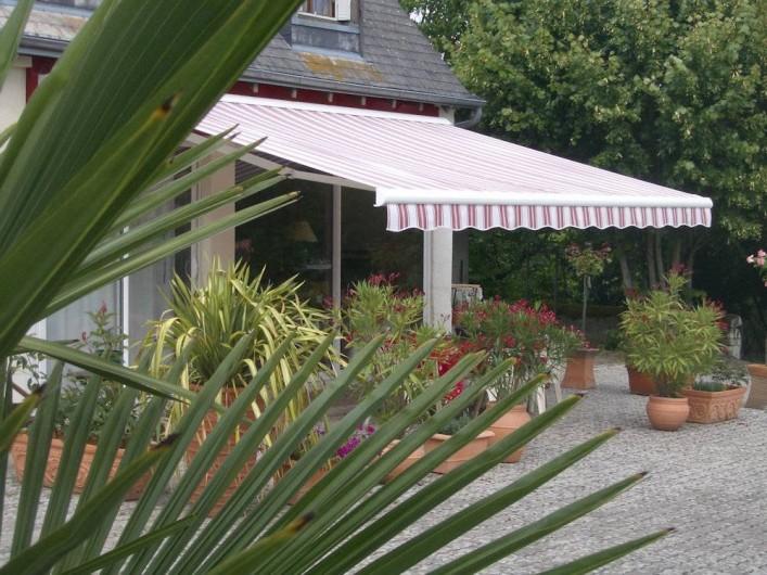 Location de vacances - Chambre d'hôtes à La Croix-en-Touraine - TERRASSE