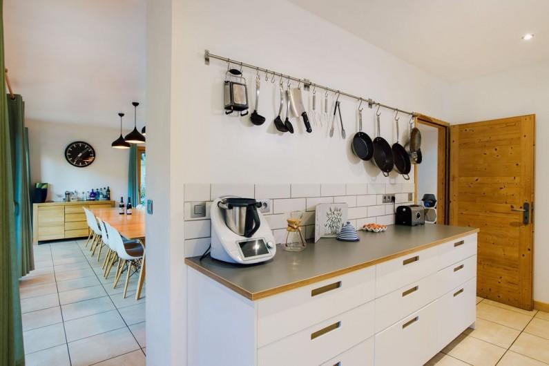 Location de vacances - Chalet à Samoëns - cuisine