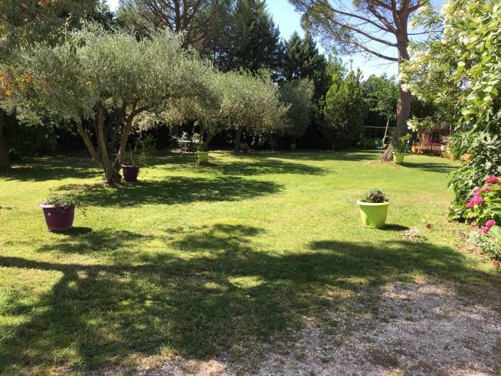 Location de vacances - Villa à Vézénobres - PARC