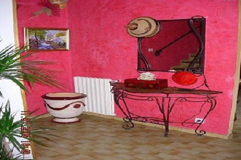 Location de vacances - Villa à Vézénobres - HALL D'ENTREE