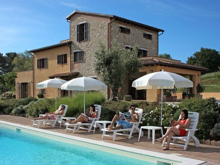 "Location de vacances - Villa à San Venanzo - Villa ""Pian del Rocchio"""