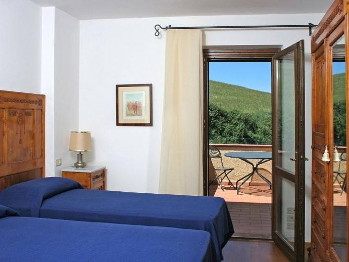 Location de vacances - Villa à San Venanzo - Chambre à coucher