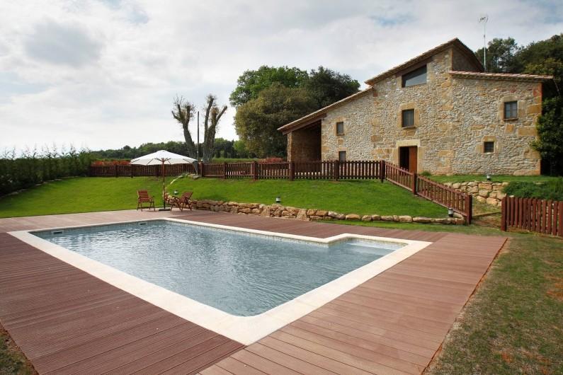 Location de vacances - Mas à Gérone - Panoramique general