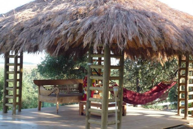 Location de vacances - Villa à Villamartin - CARBET DE LA PISCINE AVEC HAMACS