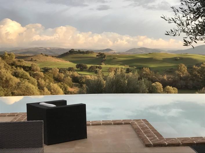 Location de vacances - Villa à Villamartin - PISCINE A DEBORDEMENT ET VUE SUR LA SIERRA