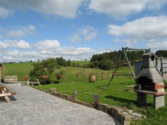 Location de vacances - Gîte à Brisy - Photo terrasse