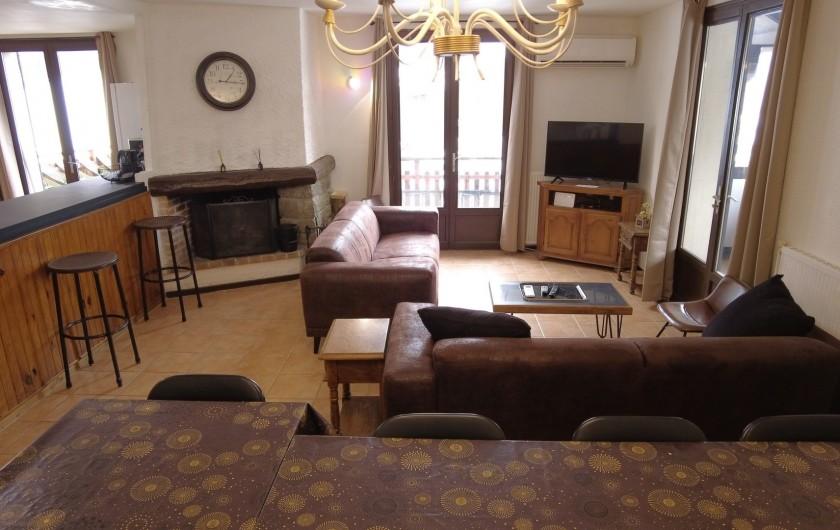 Location de vacances - Maison - Villa à Saint-Léger-les-Mélèzes - SALON  LOCATION DU HAUT