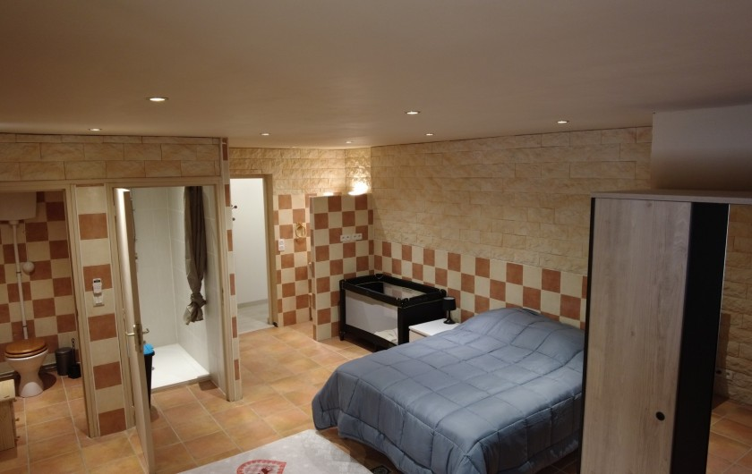 Location de vacances - Maison - Villa à Saint-Léger-les-Mélèzes - 1 CHAMBRE AVEC DOUCHE ET WC LOCATION DU BAS