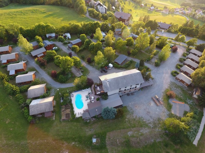 Location de vacances - Maison - Villa à Saint-Léger-les-Mélèzes - VUE D ENSEMBLE DU SITE
