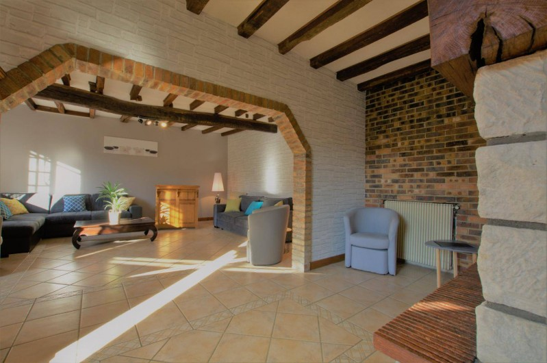 Location de vacances - Gîte à Neuville-sur-Vanne - SALON