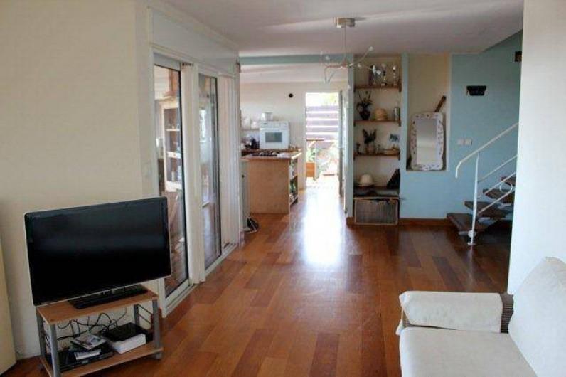 Location de vacances - Villa à Saint-Paul - Salon et cuisine
